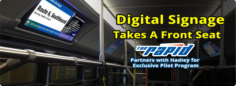 Digital Signage Takes A Front Seat